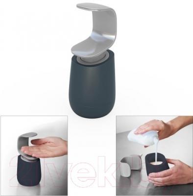 Дозатор жидкого мыла Joseph Joseph C-pump Soap Dispenser 85054 (серый)