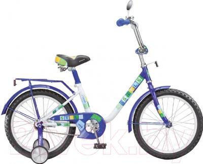 Детский велосипед Stels Flash 2015 (14, фиолетовый)