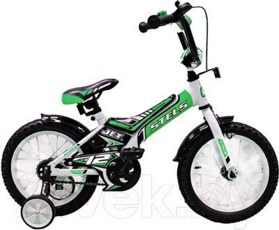 Детский велосипед Stels Jet 2015 (12, зеленый)