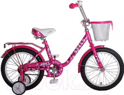 Детский велосипед Stels Joy 2015 (12, розовый)