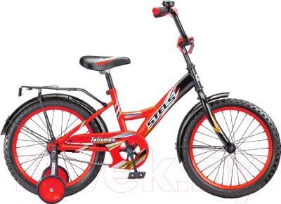 Детский велосипед Stels Talisman 2016 (16, черный/красный)