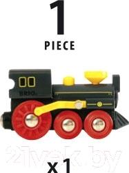 Элемент железной дороги Brio Классический паровоз 33617