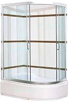 Душевой уголок Santoria 2038 L 120x80 (матовое стекло) -