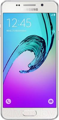 Смартфон Samsung Galaxy A3 2016 / A310F/DS (белый)