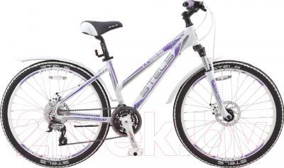 Велосипед Stels Miss 6700 MD 2016 (19, белый/серый/фиолетовый)