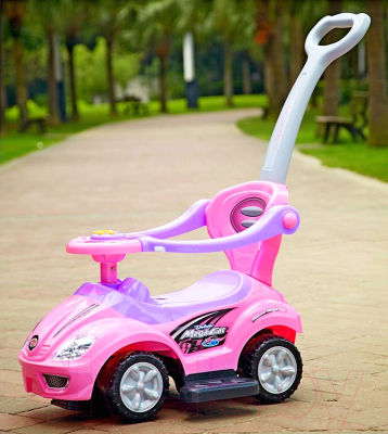 Каталка детская Chi Lok Bo Mega Car 382 (розовый)