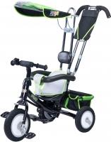 Детский велосипед с ручкой Toyz Derby (зеленый) -