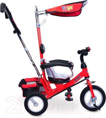 Детский велосипед с ручкой Toyz Derby (красный)