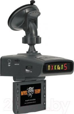 Автомобильный видеорегистратор Mystery MRD-820HDVS - с креплением к стеклу