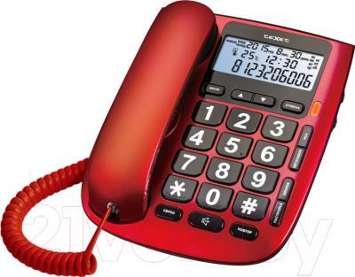 Проводной телефон TeXet TX-260 (красный)