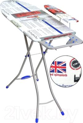 Гладильная доска Ника Белль Классик 2 / БК2 (британский флаг)