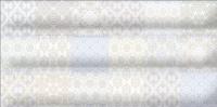 Декоративная плитка для ванной Уралкерамика Фрейя ПО9ФР003 (249x500, белый/синий) -