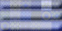 Декоративная плитка для ванной Уралкерамика Фрейя ПО9ФР303 (249x500, синий/синий) -