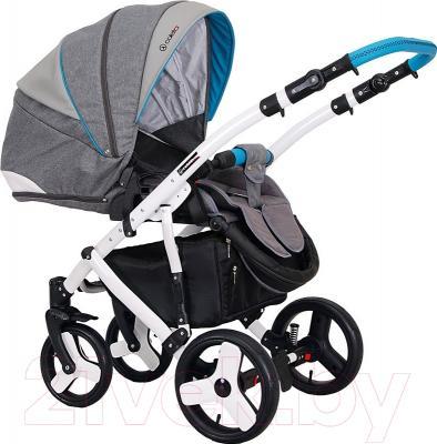 Детская универсальная коляска Coletto Florino Carbon 2 в 1 (01)