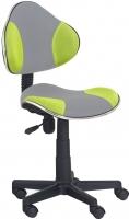 Кресло офисное Halmar Flash 2 (серо-зеленый) -
