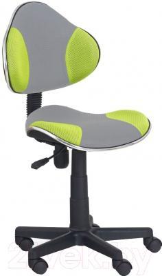 Кресло офисное Halmar Flash 2 (серо-зеленый)