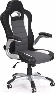Кресло офисное Halmar Lotus (черный\пепельный)