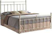 Односпальная кровать Signal Bristol 90x200 (крем) -