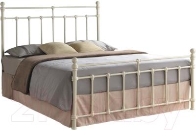 Односпальная кровать Signal Bristol 90x200 (крем)