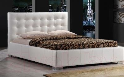 Двуспальная кровать Signal Calama (белый)