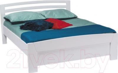 Кровать Signal Rondo 160x200 (белый)