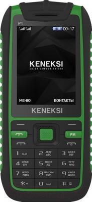 Мобильный телефон Keneksi P1 (зеленый)