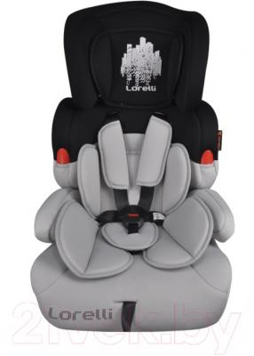 Автокресло Lorelli Kiddy Black Gray Skyline (10070011669)
