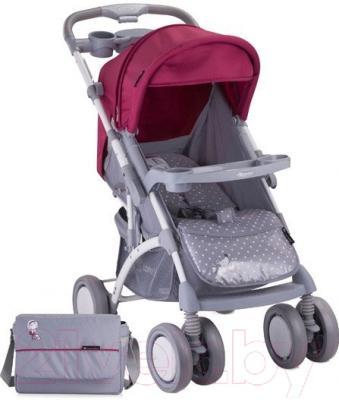 Детская прогулочная коляска Lorelli Apollo (Gray Pink)
