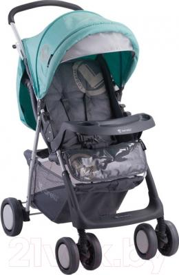 Детская прогулочная коляска Lorelli Star (Gray-Green)