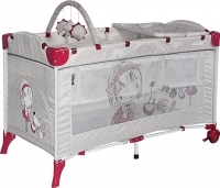 Кровать-манеж Lorelli Arena 2+ (Gray Girl) -