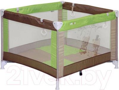 Игровой манеж Lorelli Play (Beige Green Bears)
