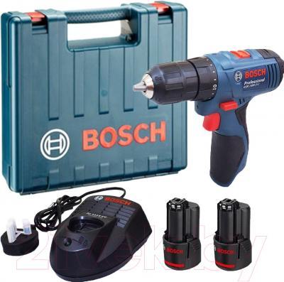 Профессиональная дрель-шуруповерт Bosch GSR 1080-2-LI Professional (0.601.9E2.000)