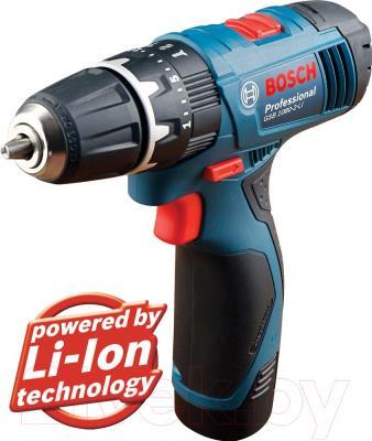 Профессиональная дрель-шуруповерт Bosch GSB 1080-2-LI Professional (0.601.9F3.000)