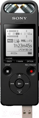 Цифровой диктофон Sony ICD-SX2000 (16 Гб, черный)