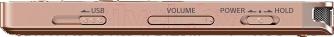 Цифровой диктофон Sony ICD-UX560 (4Gb, золотой)