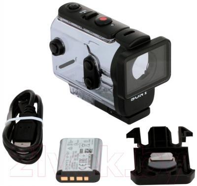Экшн-камера Sony HDR-AS50 (черный) - комплектация