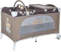 Кровать-манеж Lorelli Travel Kid 2 Beige Travelling (10080221621) -