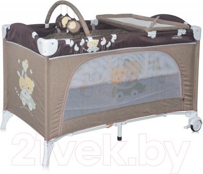Кровать-манеж Lorelli Travel Kid 2 Beige Travelling (10080221621)