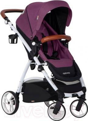Детская прогулочная коляска EasyGo Optimo (purple)