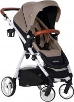 Детская прогулочная коляска EasyGo Optimo (sand) -