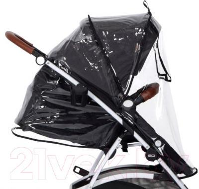 Детская прогулочная коляска EasyGo Optimo (sand) - внешний вид на примере модели другого цвета
