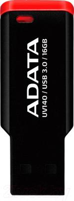 Usb flash накопитель A-data UV140 Red 16GB (AUV140-16G-RKD)