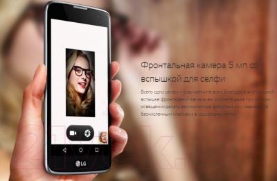 Смартфон LG K7 / X210DS (черный)