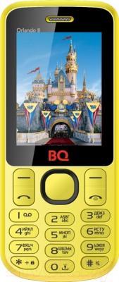 Мобильный телефон BQ Orlando II BQM-2403 (желтый)