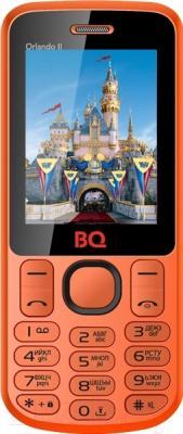Мобильный телефон BQ Orlando II BQM-2403 (оранжевый)