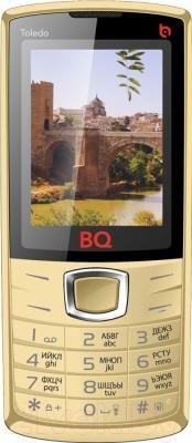 Мобильный телефон BQ Toledo BQM-2406 (золотой)