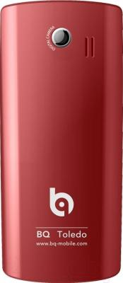 Мобильный телефон BQ Toledo BQM-2406 (красный)