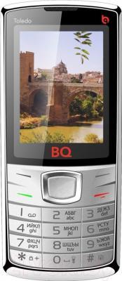 Мобильный телефон BQ Toledo BQM-2406 (серебристый)