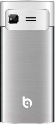 Мобильный телефон BQ Dallas BQM-2859 (серебристый)