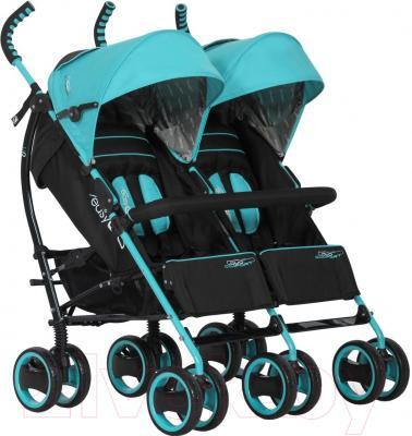 Детская прогулочная коляска EasyGo Duo Comfort (Malachite)